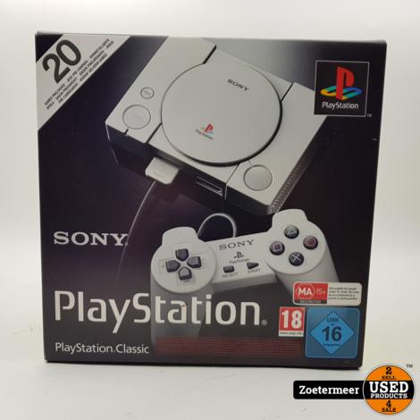 Sony Playstation Classic in doos