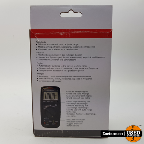 Metofix EM500 multimeter