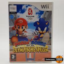 Nintendo Mario * sonic olypische spelen wii