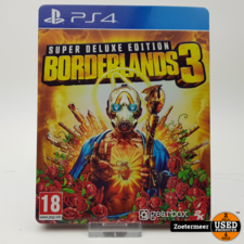 Borderlands 3 super deluxe edition PS4