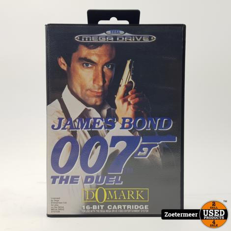 James Bond 007 the duel Sega mega drive