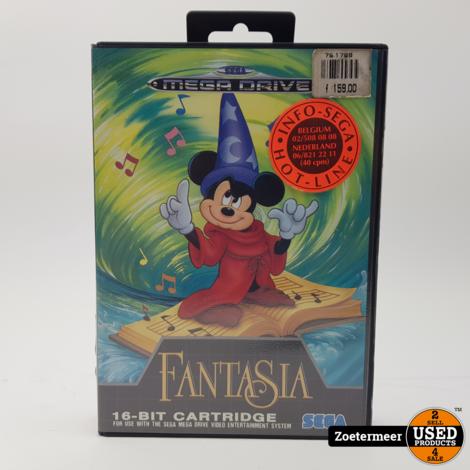 Fantasia Sega mega drive