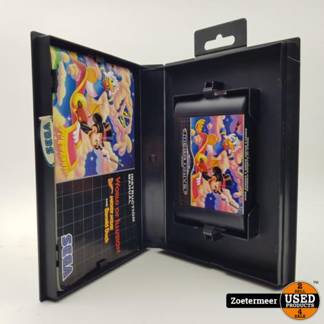 World of Illusion Sega mega drive