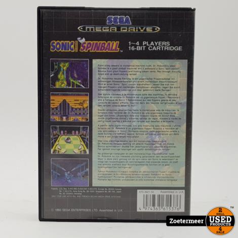 Sonic Spinball Sega