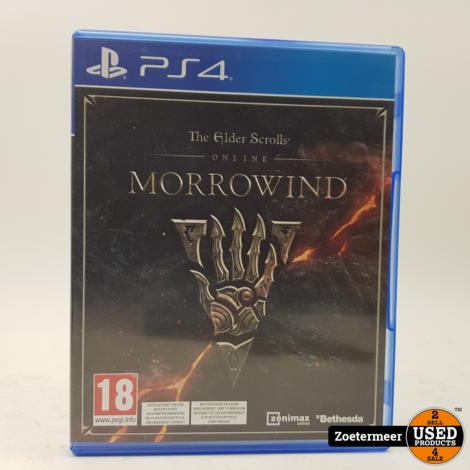 The Elder Scrolls Morrowind PS4