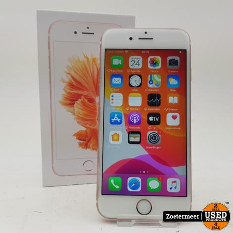 Apple iPhone 6S 16GB Rose Gold (nieuwe accu)