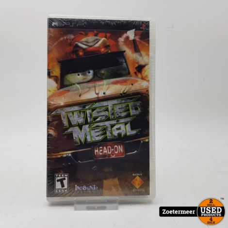 Twisted Metal PSP NIEUW