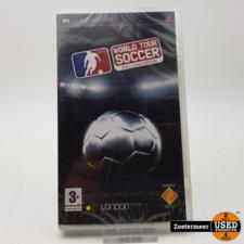Sony World tour soccer psp NIEUW