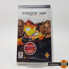 Sony Fired UP PSP NIEUW