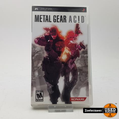 Metal gear Acid PSP