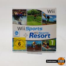 Wii sports + wii sports resorts