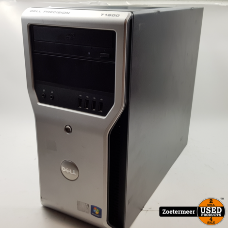 Dell Precision t1600 w10p/500gb/8gb/i5- 2500@3.3GHz