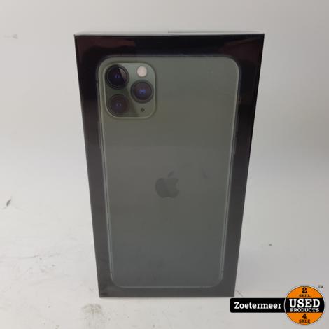 Apple iPhone 11 Pro Max 256GB Green || 1 jaar apple care
