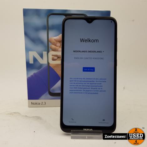 Nokia 2.3 Garantie tot 07-04-2022