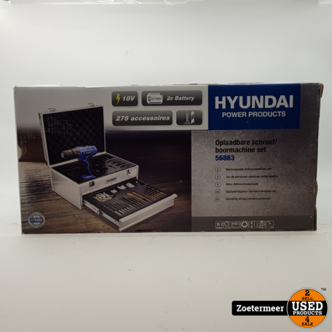 Hyundai D018-18v accuboorset