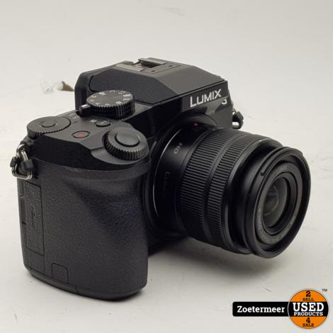 Panasonic Lumix DMC-G7K Zwart + 14-42mm