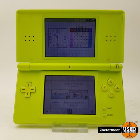 Nintendo DS Lite Neon Groen