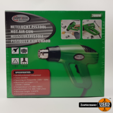 HoffTech Verfbrander Hetelucht Pistool 2000W Nieuw