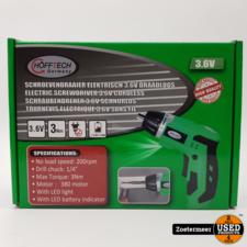 HoffTech Hofftech Elektrische Schroevendraaier 3.6V Draadloos Nieuw
