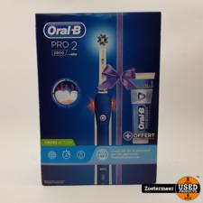 Oral-B Oral B Pro 2 2800 Nieuw!