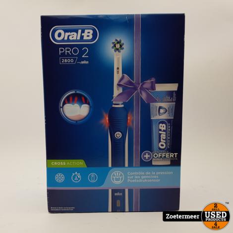 Oral B Pro 2 2800 Nieuw!