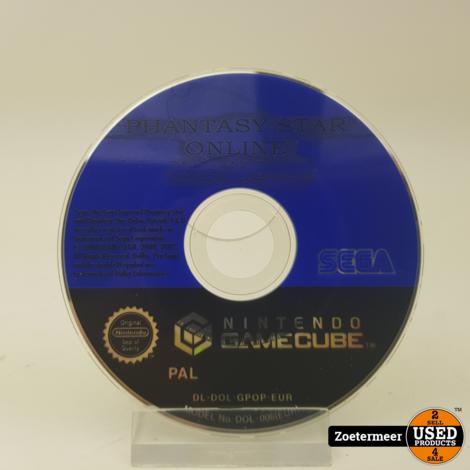 phantasy star gamecube (losse disk)