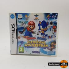 Nintendo Mario & Sonic op de olympische spelen ds