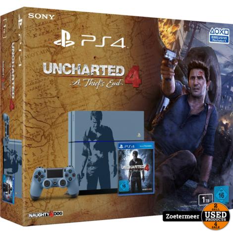 Sony Playstation 4 1TB Uncharted 4 edition + spel [NIEUW]