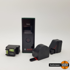 Bosch Bosch Zamo 3 afstandsmeter inc. 2 extra opzetstukjes