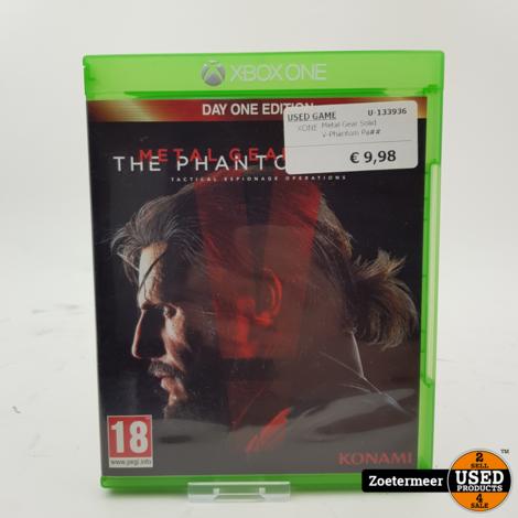 Metal Gear Solid V - The Phantom Pain Xbox one