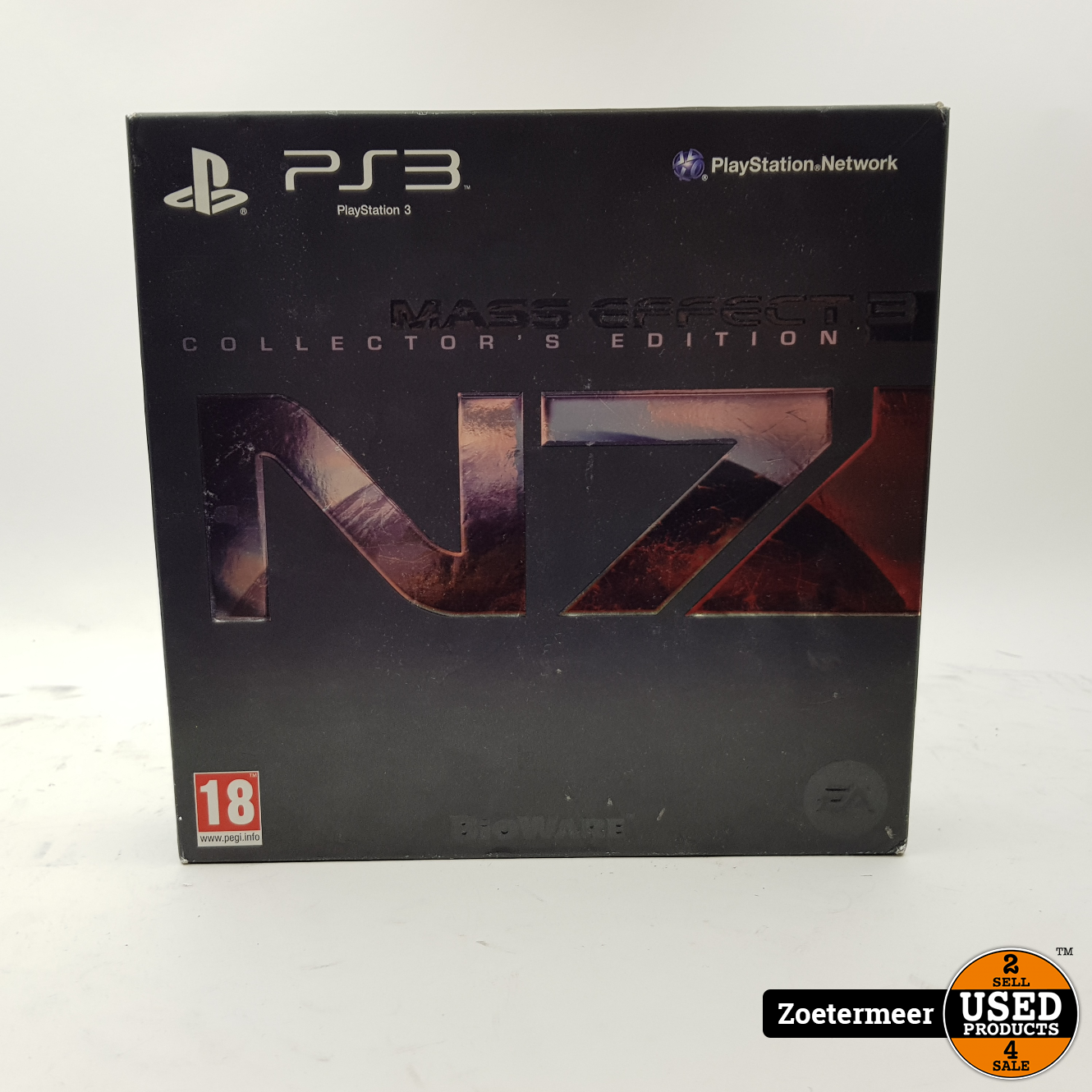 Mass effect 3 collector's edition ps3 - Used Products Zoetermeer