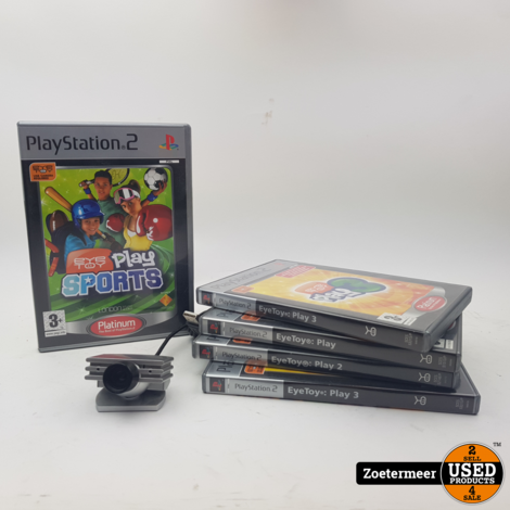 EyeToy set PS2