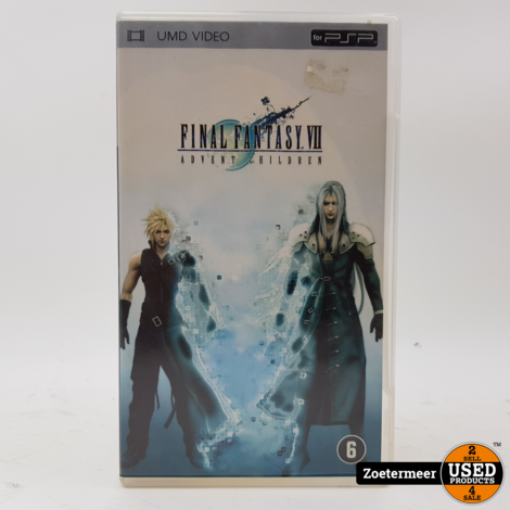 Final Fantasy UMD film psp