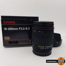 Sigma Sigma 18-200 f3.5-6.3 Lens A-Mount