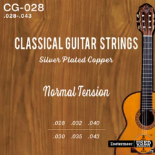 Strings Nylon Silver Plated Normal Tension