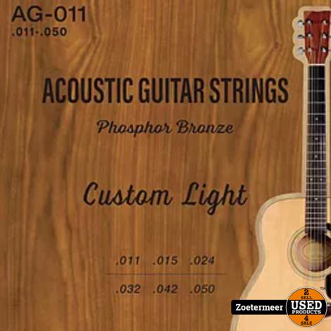 Strings Acoustic Phosphor Bronze .011-.050