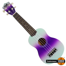 CLXmusic Ukelele (Dual colour mint/ purple)