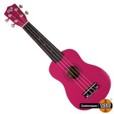 CLXmusic Ukelele (Pink + glitters)