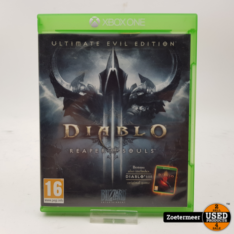 Diablo Reaper of souls Xbox one