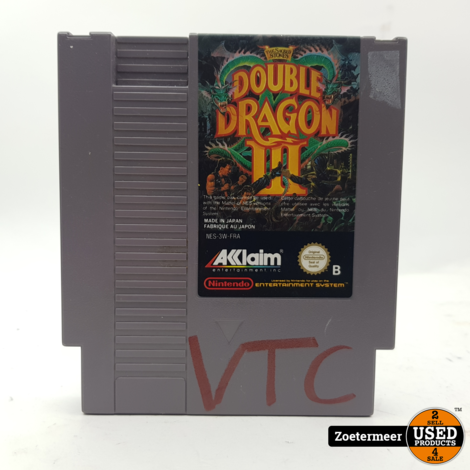 Double dragon 3 NES