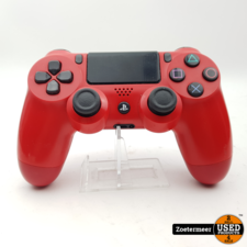 Sony PlayStation 4 controller rood