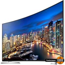 Samsung Samsung UE55HU7100S 4K curved smart-tv 2 plekjes in scherm