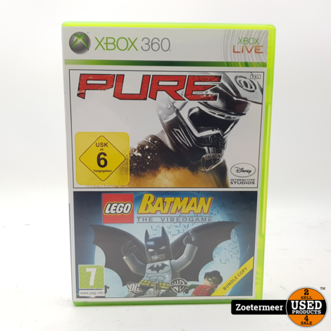 Pure / Lego Batman  the videogame Xbox 360