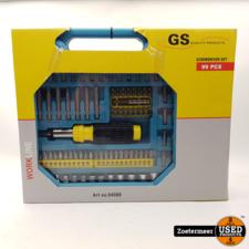GS GS Schroevendraaier set NIEUW