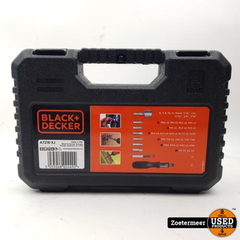 Black en Decker A7218 Bitset NIEUW
