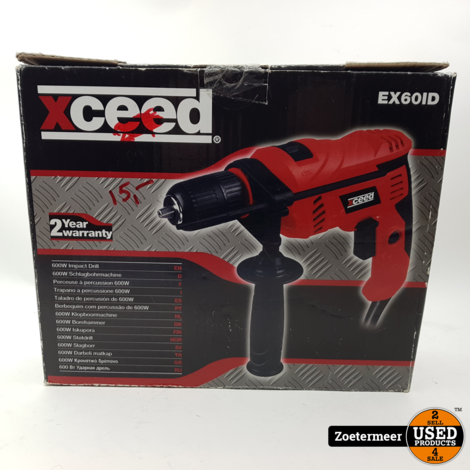 Xceed EX60ID Klopboormachine NIEUW