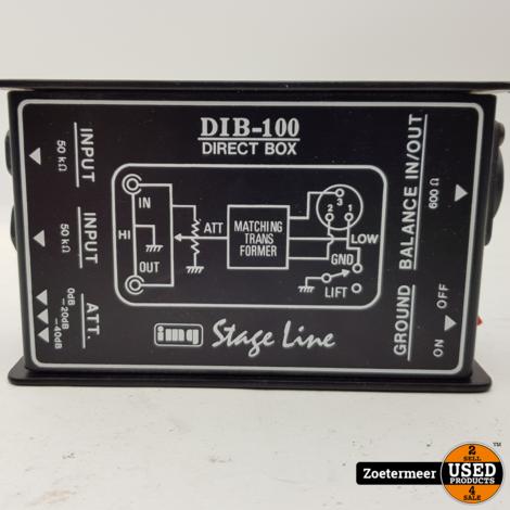 Stage line dib-100