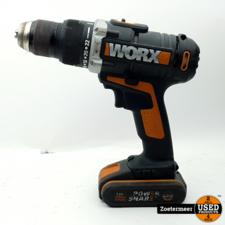 Worx Worx WX372.9 20V Klopboor/Schroefmachine met accu + lader