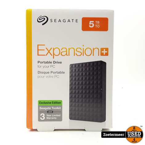 Seagate 5TB expansion+ Portable HDD