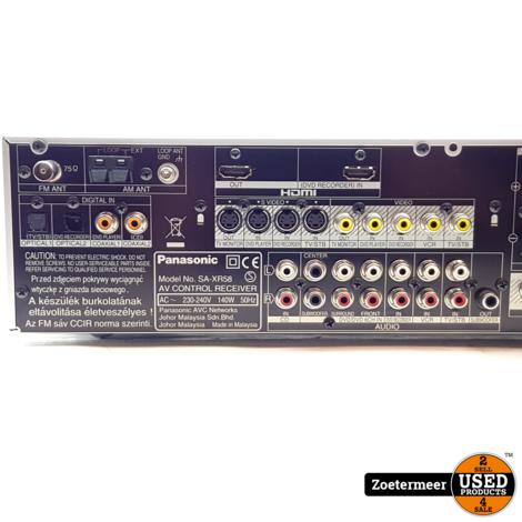 Panasonic SA-XR58 Control receiver